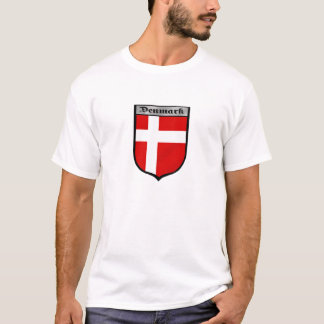 Denmark shield Danish badge emblem gifts T-Shirt