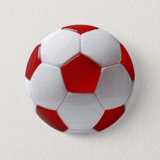 Denmark Soccer 2 Inch Round Button