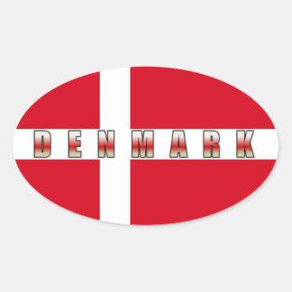 Denmark Sticker