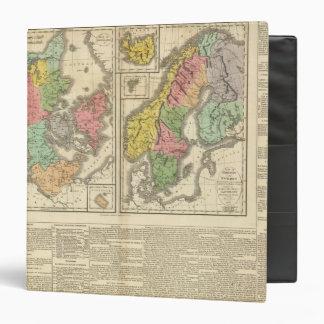 Denmark, Sweden, and Norway 3 Ring Binder