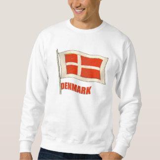 Denmark vintage flag Dansk fans gifts Sweatshirt