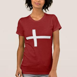 Denmark White Lines T-Shirt