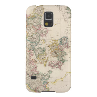 Denmark with inset map of Iceland Case For Galaxy S5