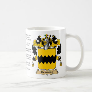 Denning Family Reunion Coffee Mug