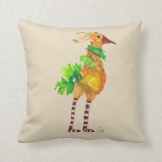 Dennis & JoAnne Bird Pillow
