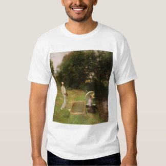 Dennis Miller Bunker Painting at Calcot by Sargent Tee Shirts