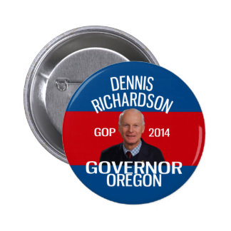 Dennis Richardson for Governor pin
