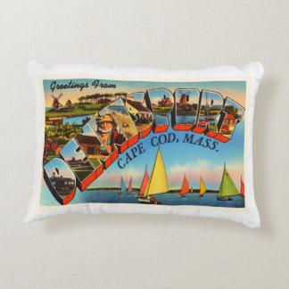 Dennisport Cape Cod Massachusetts MA Old Travel Decorative Pillow