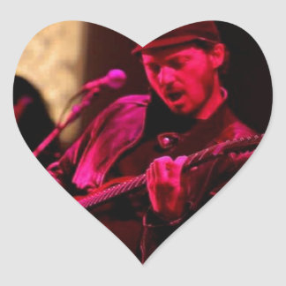 Denny DeMarchi Music Merchandise Heart Sticker