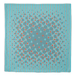 Density in New Zealand Inspired Colors Duvet Cover