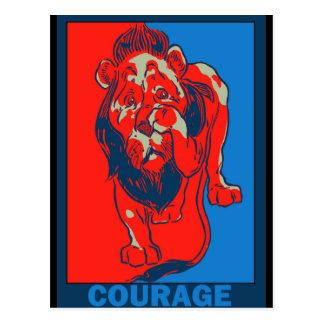 Denslow's Wizard of Oz:: Courage Postcard