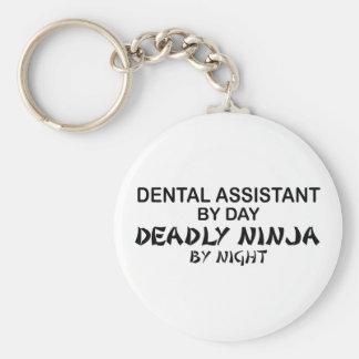 Dental Assistant Deadly Ninja Keychain