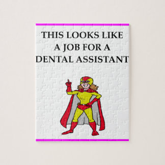 DENTAL assistant Jigsaw Puzzle