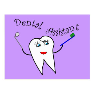 Dental Assistant T-shirts and Gifts Postcard