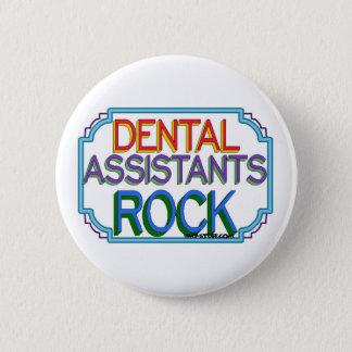 Dental Assistants Rock 2 Inch Round Button