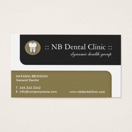 Dental business cards zazzle dental business cards reheart Image collections