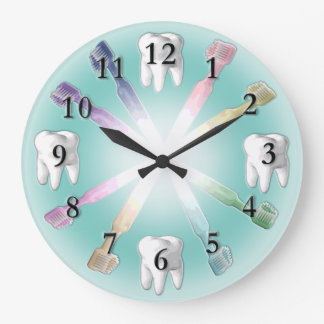 Dental Clock with Changeable Background Color