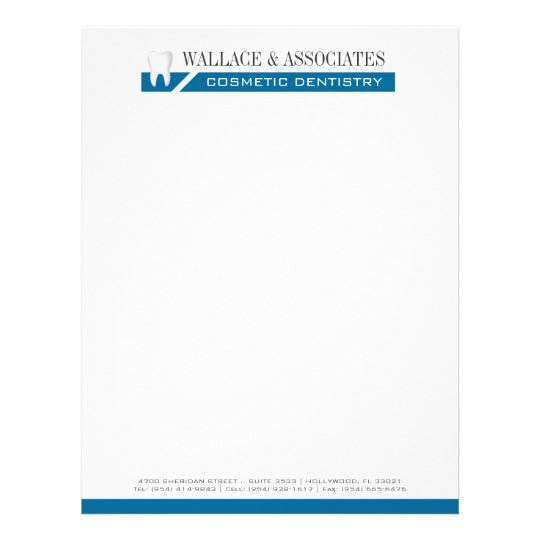 dental company letterhead