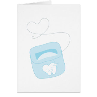 Dental Floss Card