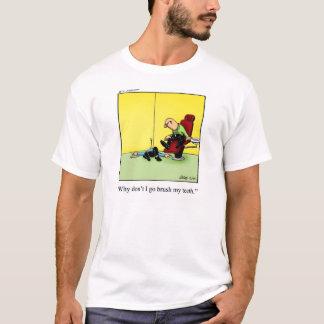 "Dental Humor Tee Shirt ""Pandemonium"""