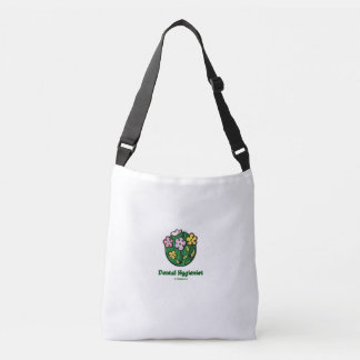 Dental Hygienist Blooms Crossbody Bag