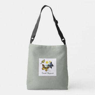 Dental Hygienist Butterflies Crossbody Bag