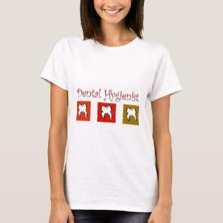 Dental Hygienist Gifts, 3 Teeth Design T-Shirt