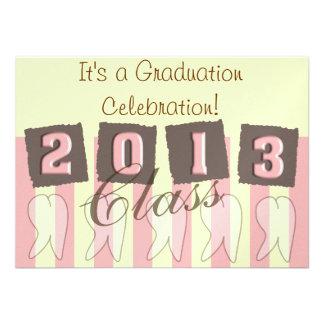Dental Hygienist Graduation Invitations for 2013