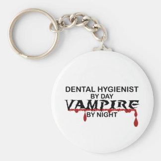 Dental Hygienist Vampire by Night Keychain