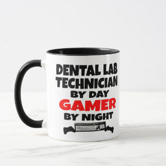 Dental Lab Technician Gamer Mug