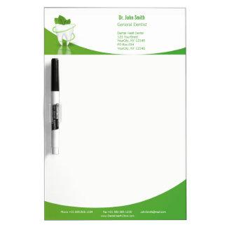 Dental Medical Mint Leaf Tooth - Dry Erase Board