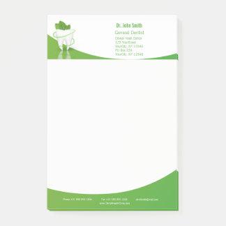 Dental Medical Mint Leaf Tooth - Post-it® Notes