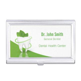 Dental Medical Mint Tooth - Business Card Holder