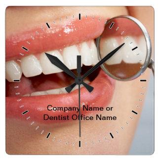 Dental Office Company Logo Clocks