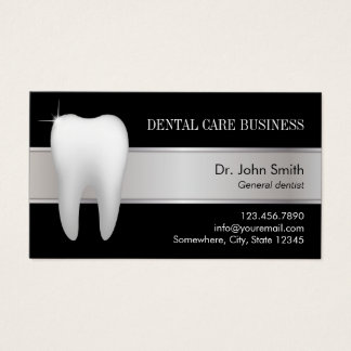 Dental Office Professional Dentist Appointment Business Card