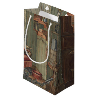 Dental Operating Room Watercolor Gouache Vintage Small Gift Bag