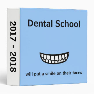 Dental School Binder