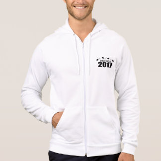 Dental School Grad 2017 Caps And Diplomas (Black) Hoodie