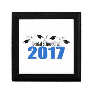 Dental School Grad 2017 Caps And Diplomas (Blue) Gift Box