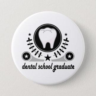 Dental School Graduate Gift Idea 3 Inch Round Button