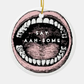Dental School Graduation Ceramic Ornament