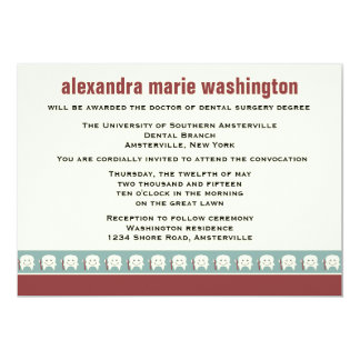 Dental School Graduation Invitation / Announcement