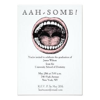 Dental School Party Invitation