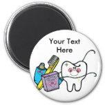Dental Stuff for Dentist Day March 6th Fridge Magnet