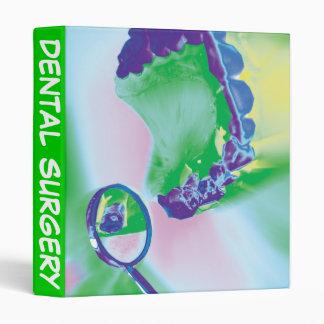 Dental Surgery Dentist Office Supply Binder