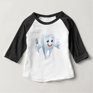 Dental Tooth Mascot Baby T-Shirt