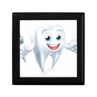 Dental Tooth Mascot Gift Box