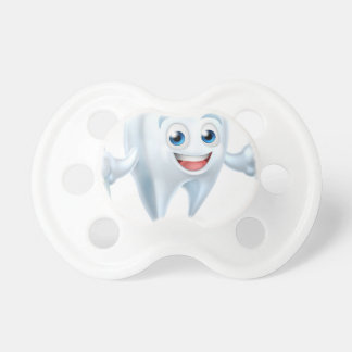 Dental Tooth Mascot Pacifier