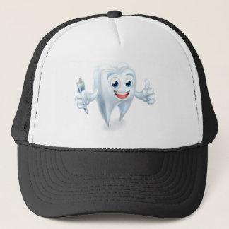 Dental Tooth Mascot Trucker Hat