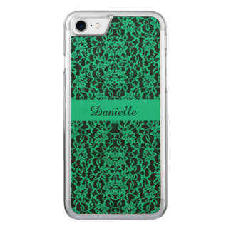 Dentelle verte de Kelly d'Irlandais Coque Carved Pour iPhone 7